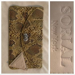SORIAL New York Coco Clutch